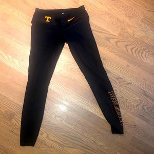 Nike UT Tennessee Vols leggings. S. Dri-fit